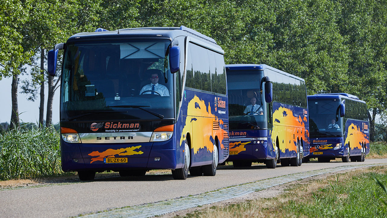 TCR Groep neemt Sickman Touringcarvervoer over